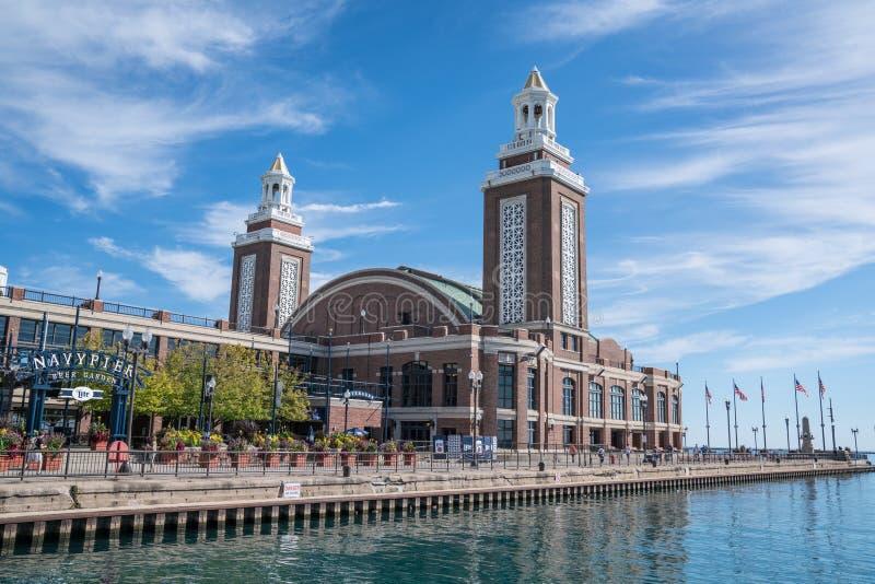 Chicago-Marinepier lizenzfreie stockfotos