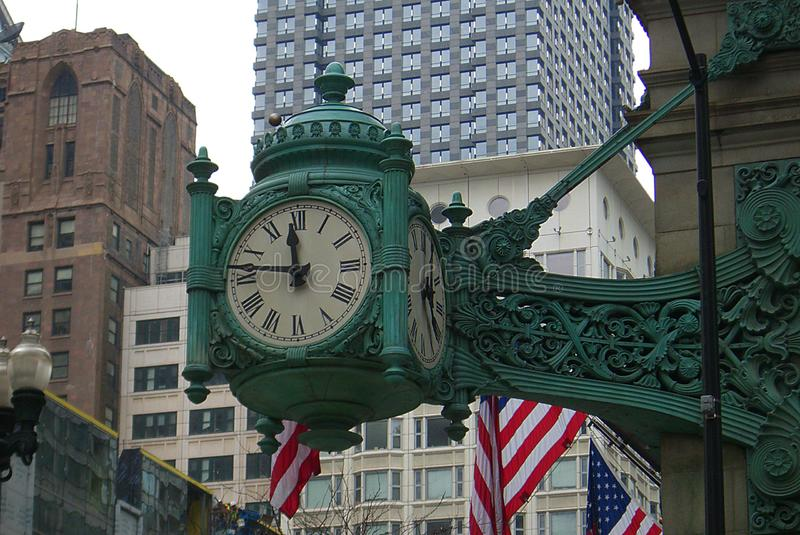Chicago - Marshall Field Clock royalty free stock images