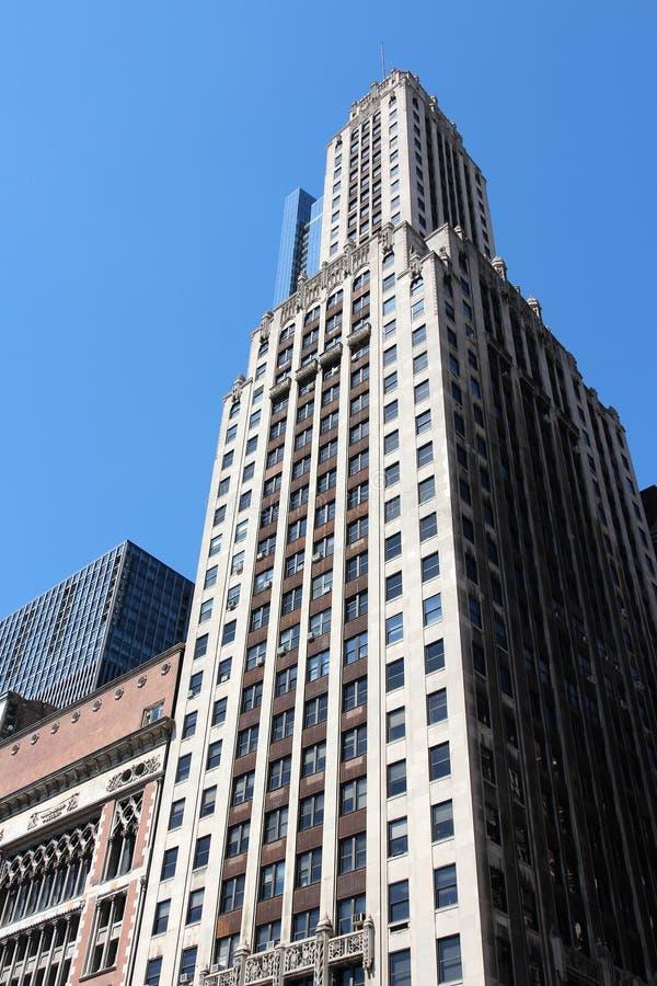 Chicago Michigan Avenue stock afbeelding