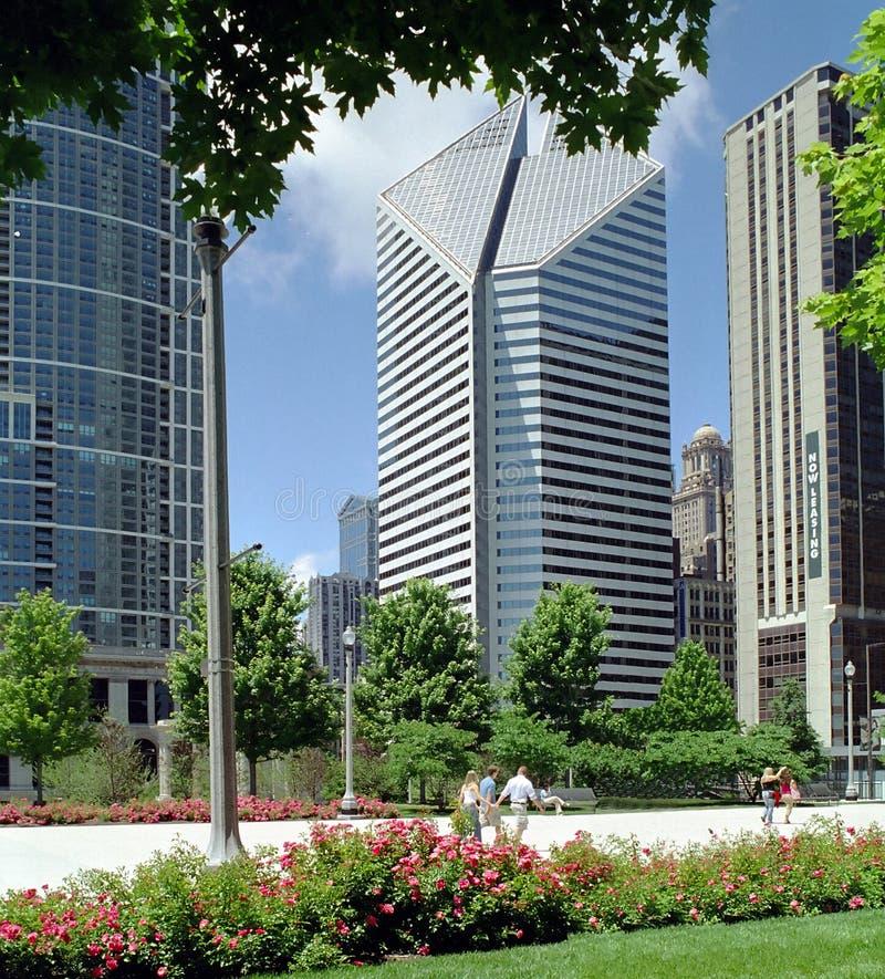 Download Chicago Millenium Park Illinois USA Stock Image - Image of corporation, chicago: 2821865