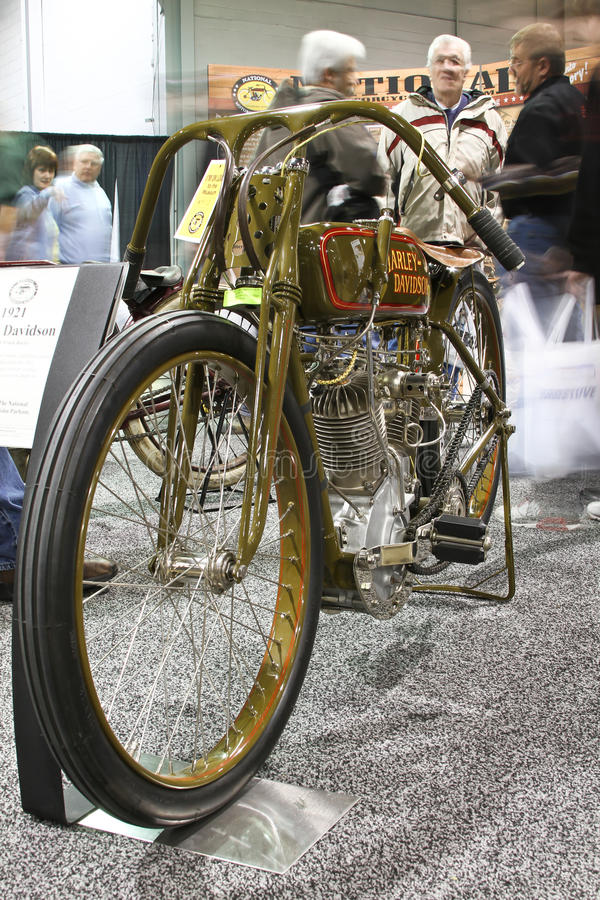 Download Chicago Motorcycle Show Harley Davidson Editorial Image - Image of motorcycle, illuminated: 19074790