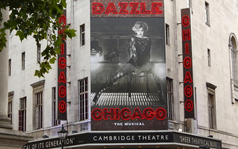Download Chicago The Musical editorial photography. Image of poster - 19002772