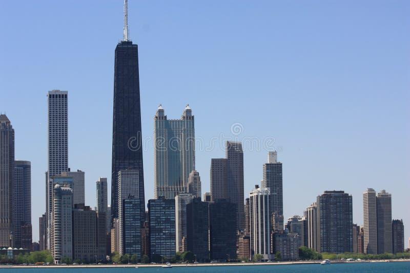 Chicago no verão fotos de stock royalty free