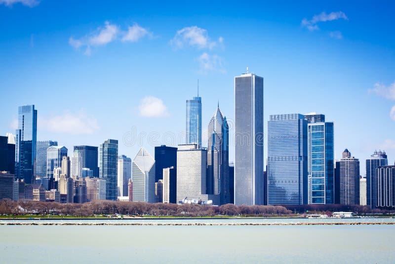 Chicago no verão fotografia de stock
