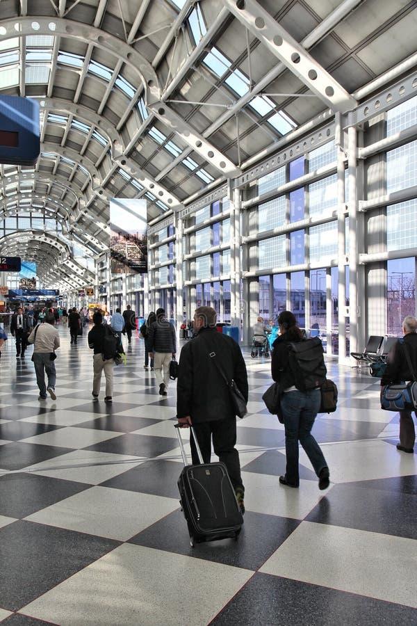 Chicago O'Hare foto de stock