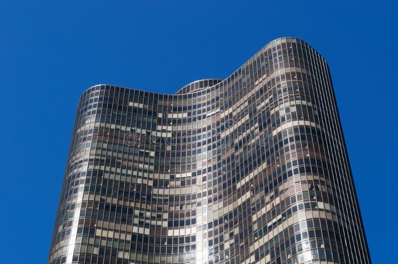 Chicago, parte superior do ponto do lago eleva-se o 22 de setembro de 2014 fotografia de stock
