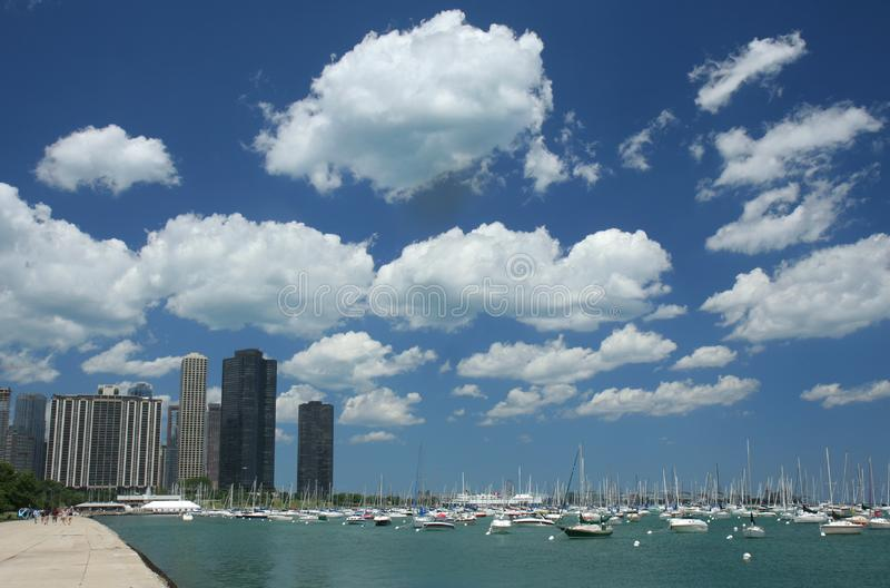 Chicago pir royaltyfri bild