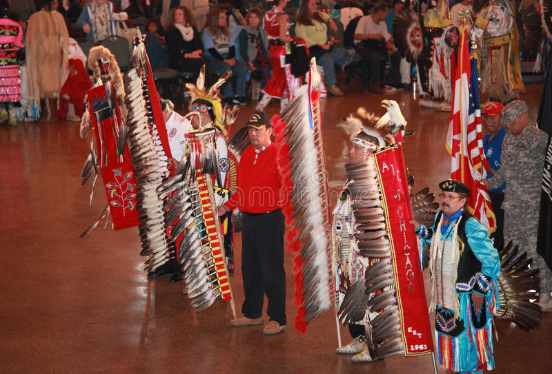 Chicago Pow Wow Editorial Stock Image