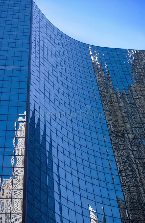 Chicago-Reflexionen stockfotografie