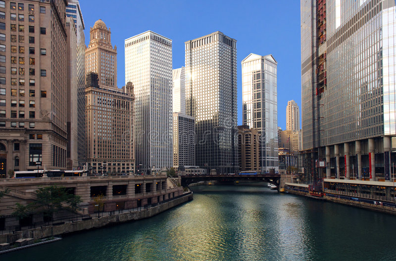 Chicago River stock images