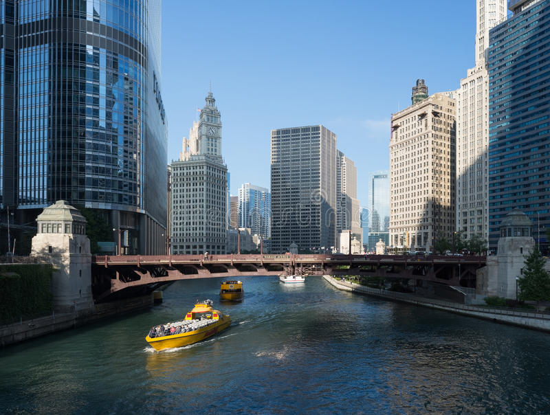 Chicago River royalty free stock photography