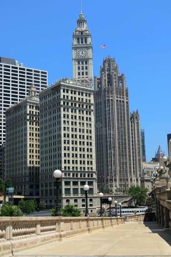 Download Chicago riverwalk stock photo. Image of built, boat, destination - 20495308