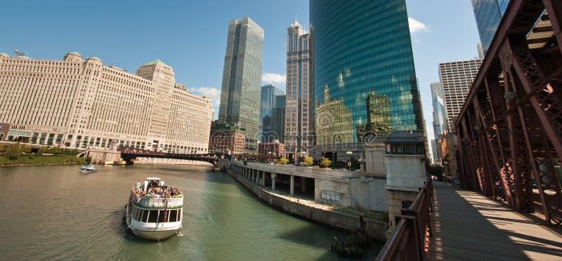 chicago rzeka obrazy royalty free
