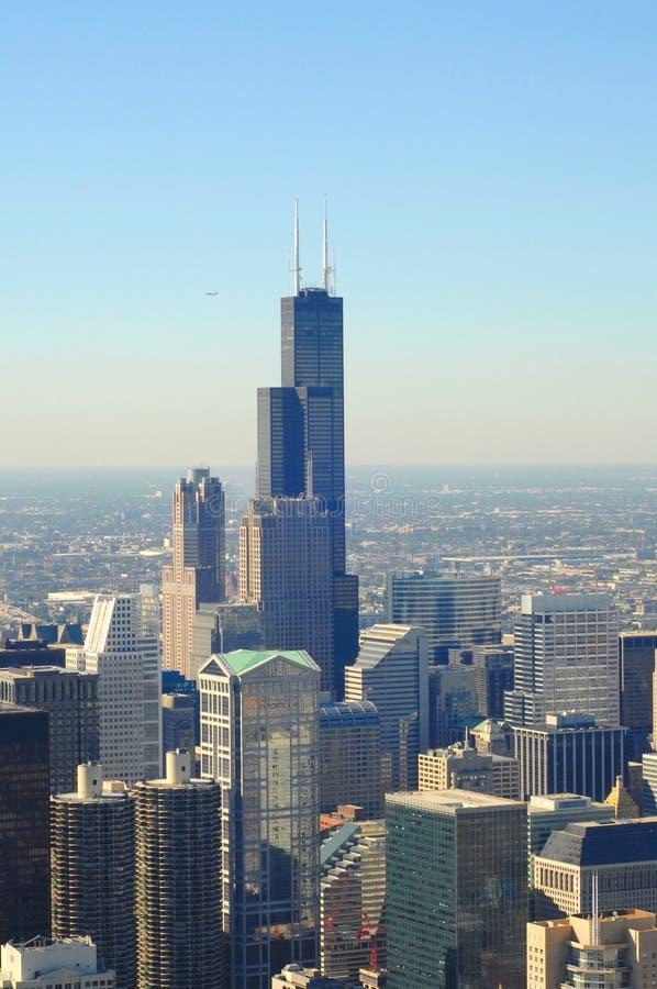 Chicago, schroeit Toren royalty-vrije stock foto's