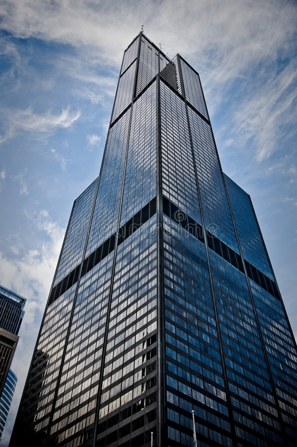 chicago Sears Tower arkivfoto