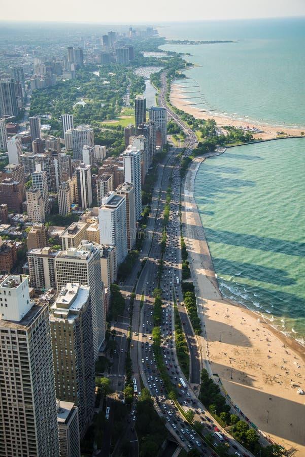 Chicago Shoreline images stock