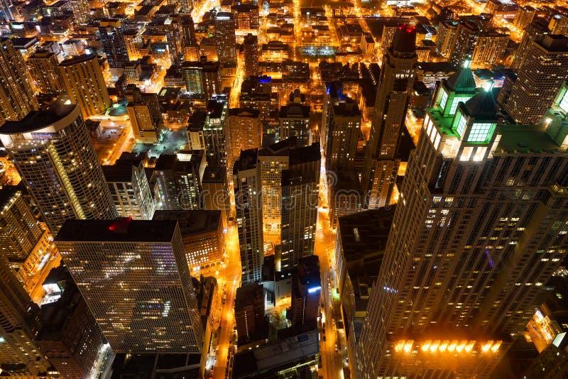chicago sikt royaltyfria foton