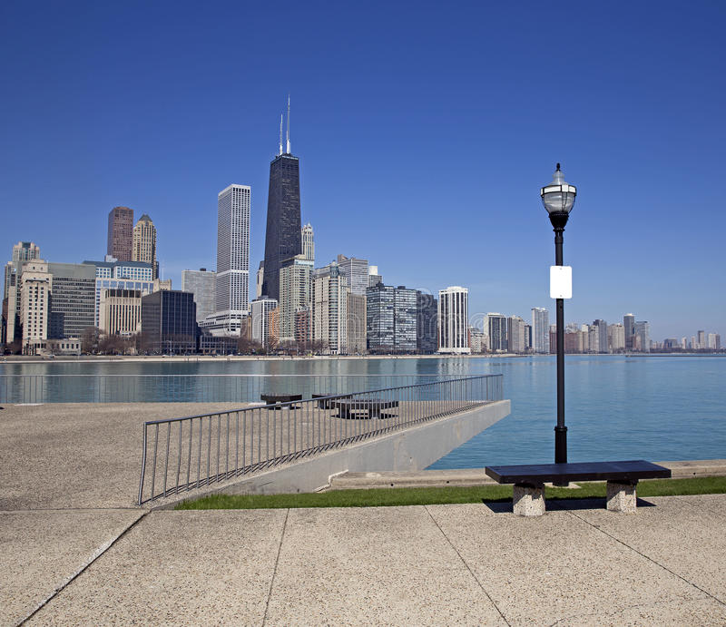 Chicago sikt arkivbilder