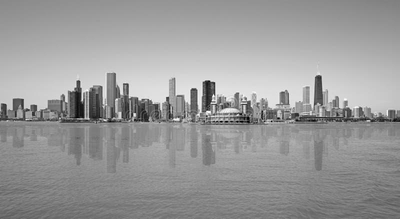 Chicago sikt royaltyfria bilder