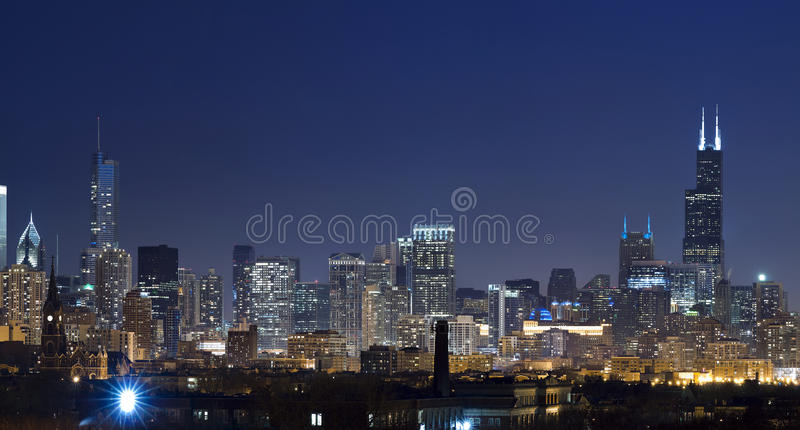 Download Chicago Skyline Royalty Free Stock Photos - Image: 19048718