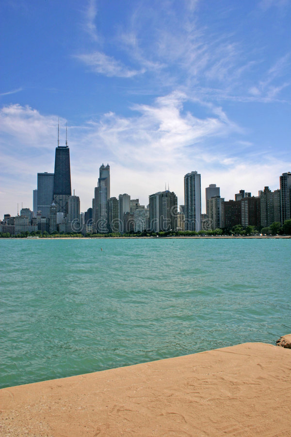 Chicago Skyline 2 royalty free stock photography