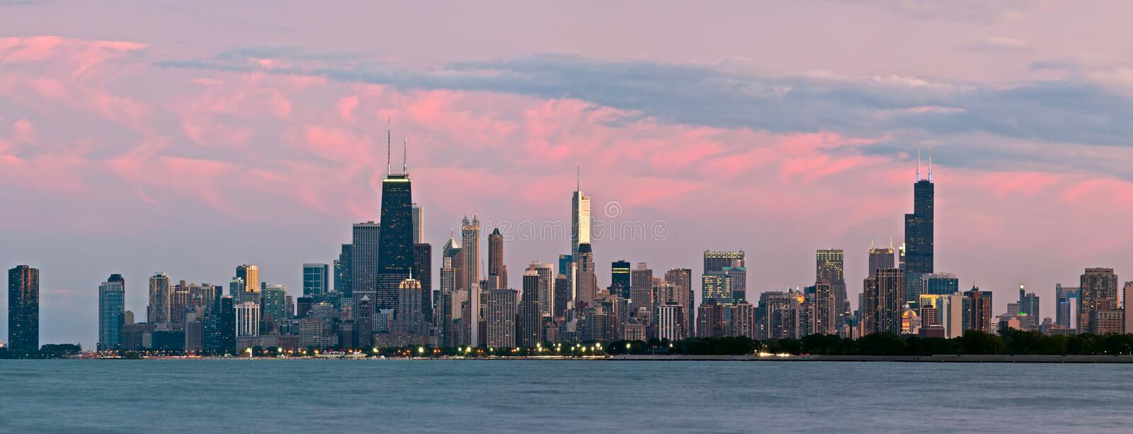 Download Chicago Skyline Royalty Free Stock Photography - Image: 21037447