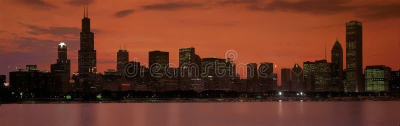 Download Chicago skyline editorial photo. Image of illinois, panoramic - 23159421
