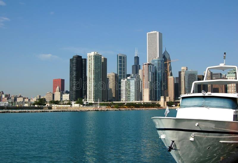 Download Chicago Skyline stock image. Image of urban, michigan - 3301235