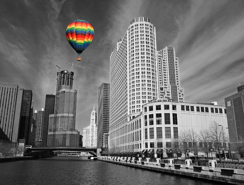 The Chicago Skyline Free Stock Photography