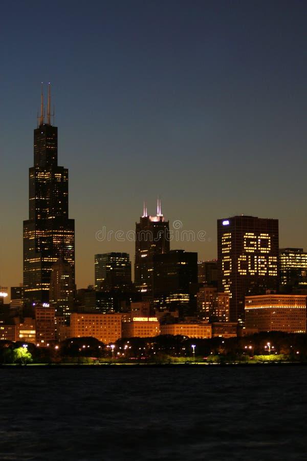Download Chicago Skyline stock image. Image of coast, sunset, city - 6616915
