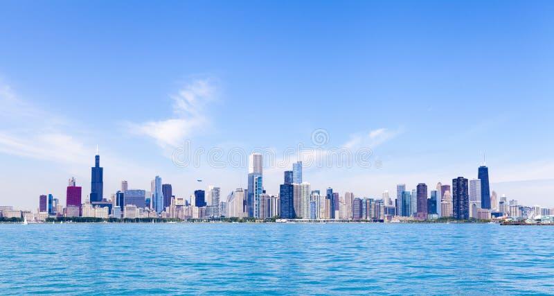 Download Chicago Skyline stock photo. Image of lake, blue, luxury - 33513396