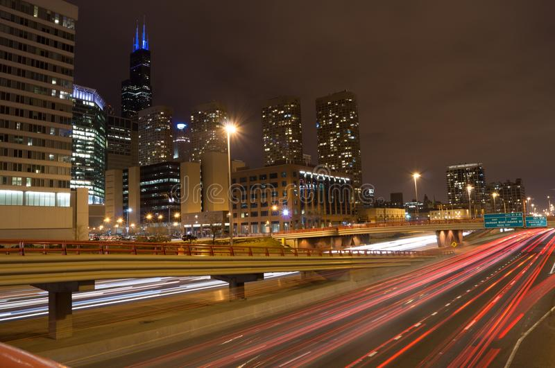 Download Chicago Skyline editorial photo. Image of willis, 90 - 39502606