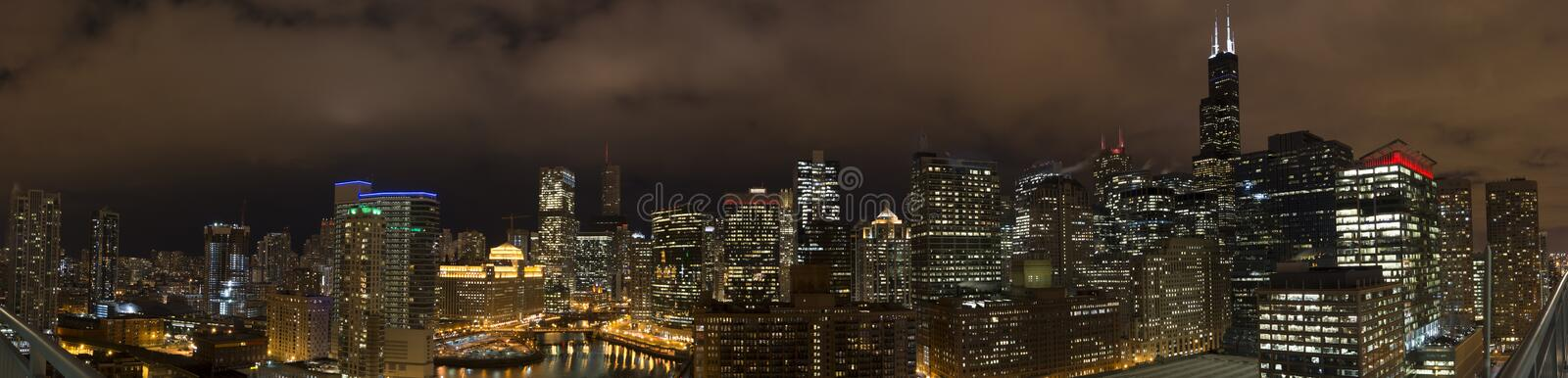 Download Chicago Skyline stock photo. Image of wolfe, chicago - 31365392