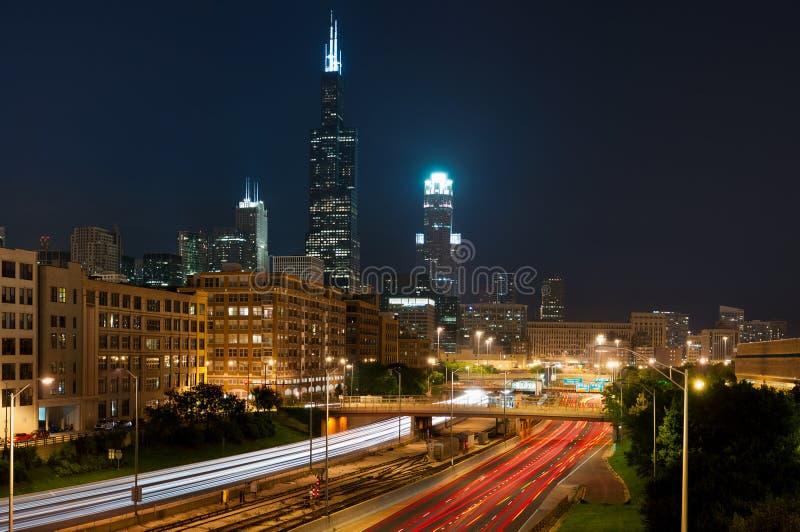chicago stad arkivbilder