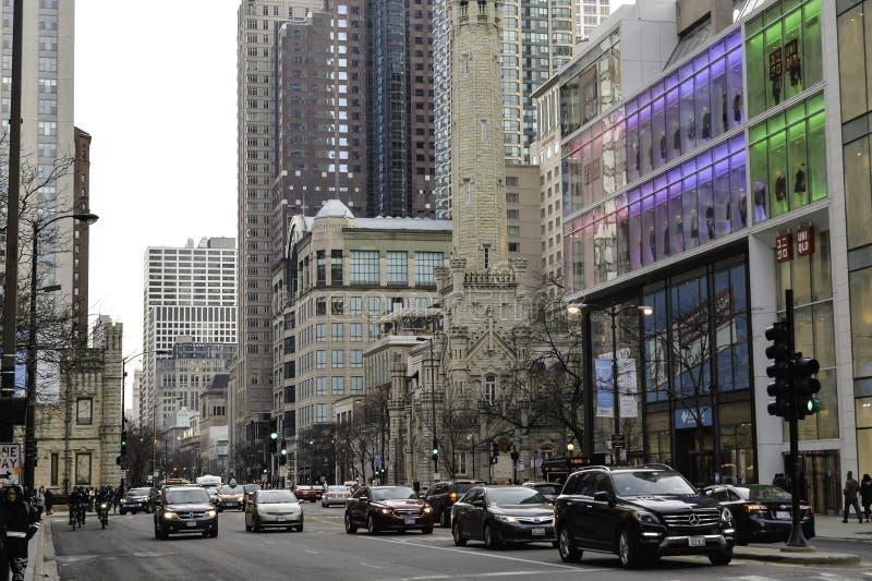 Chicago-Stadt stockbild