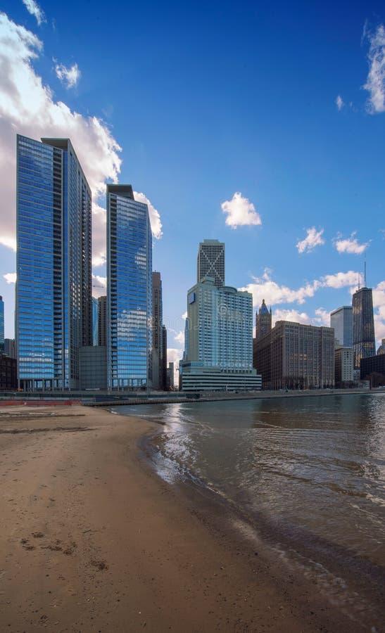 Chicago-Stadt, Chicago, Illinois, USA stockbild