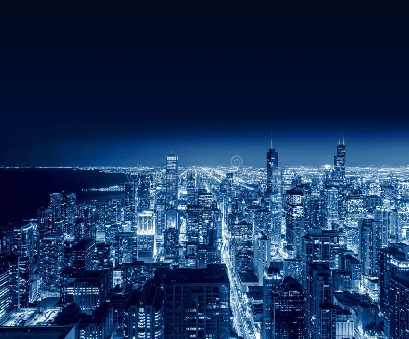 Chicago-Stadt, Chicago, Illinois, USA lizenzfreie stockfotografie