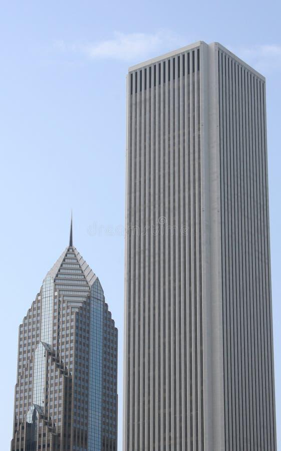 Chicago-Stadtgebäude stockbilder
