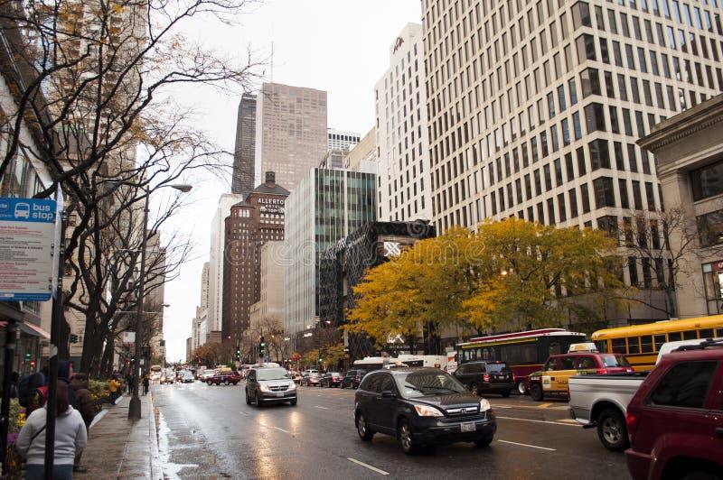 Chicago-Straße stockfoto