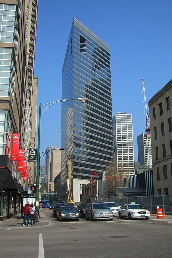 Chicago-Straßenbild lizenzfreie stockfotografie