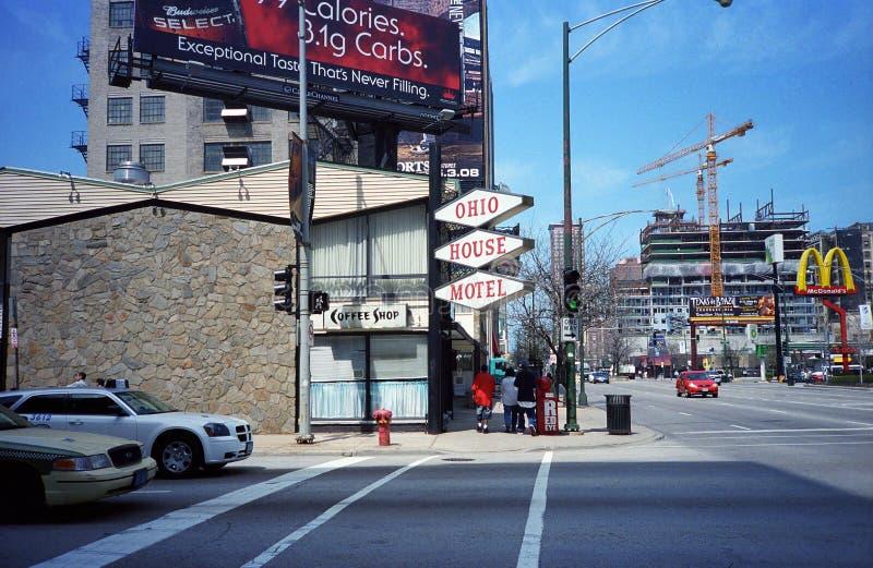 Chicago-Straßenbild lizenzfreie stockbilder