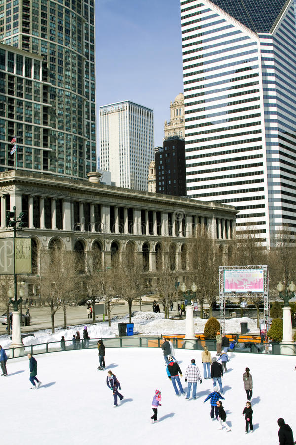 chicago tana festiwalu zima obraz stock