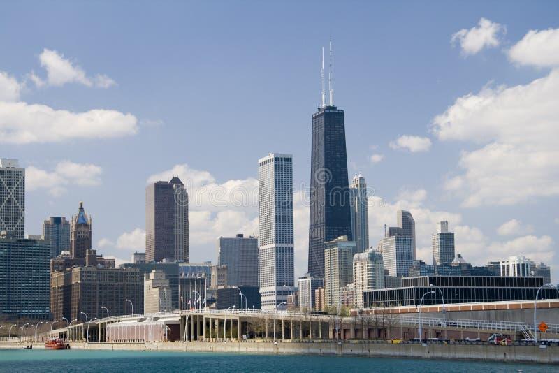 Chicago, torretta del Hancock immagini stock