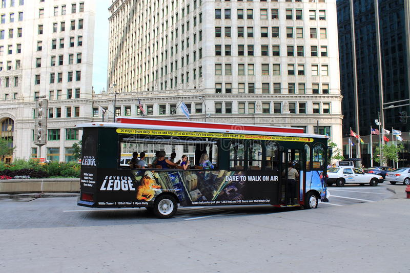 Chicago Tourism Editorial Image