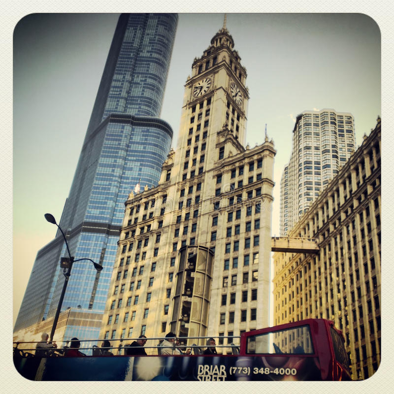 Download Chicago tourist bus tour editorial photography. Image of illinois - 31253367