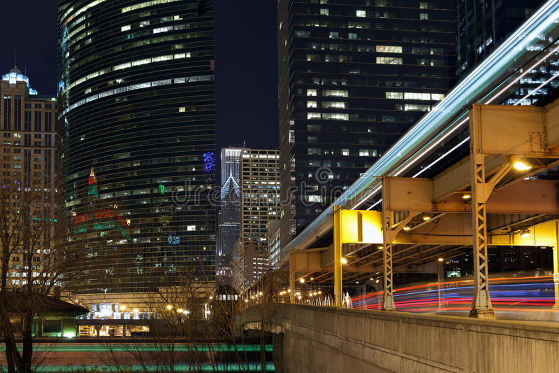 Download Chicago Transportation. Stock Image - Image: 22200101