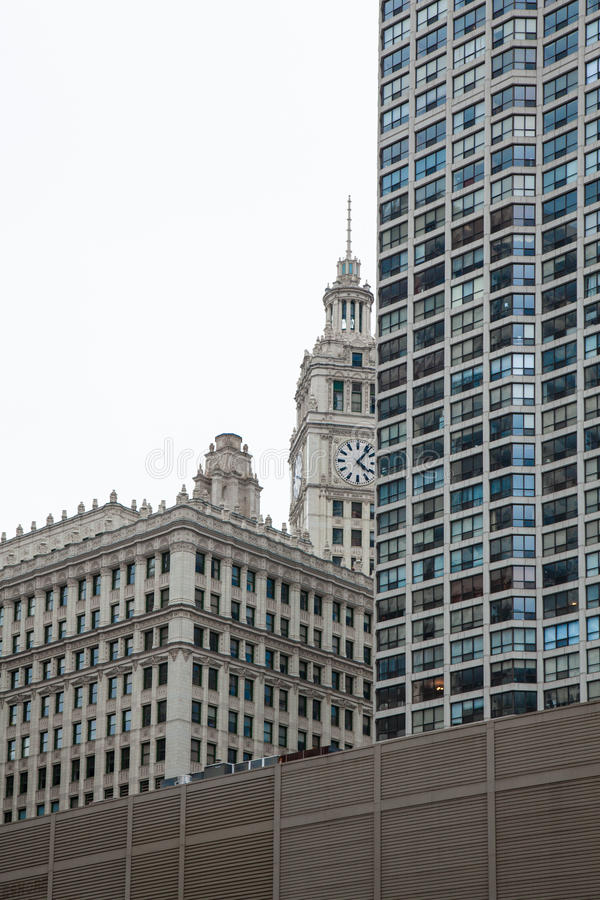 Chicago Tribune Building royalty free stock photos