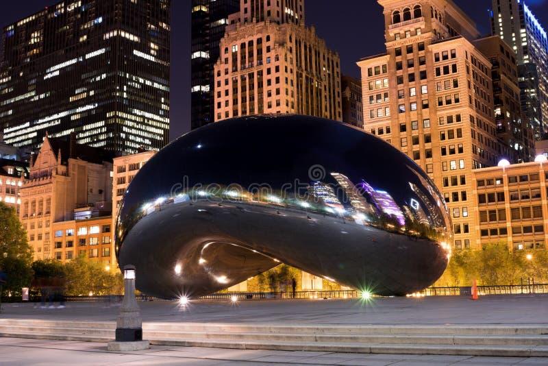 Chicago& x27 ; une porte de nuage images stock