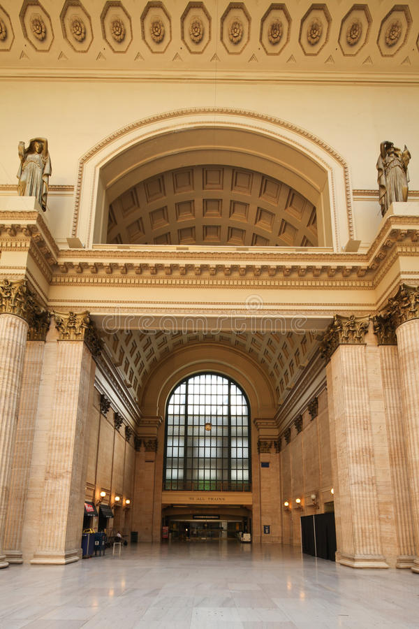 Chicago Union station royalty free stock images