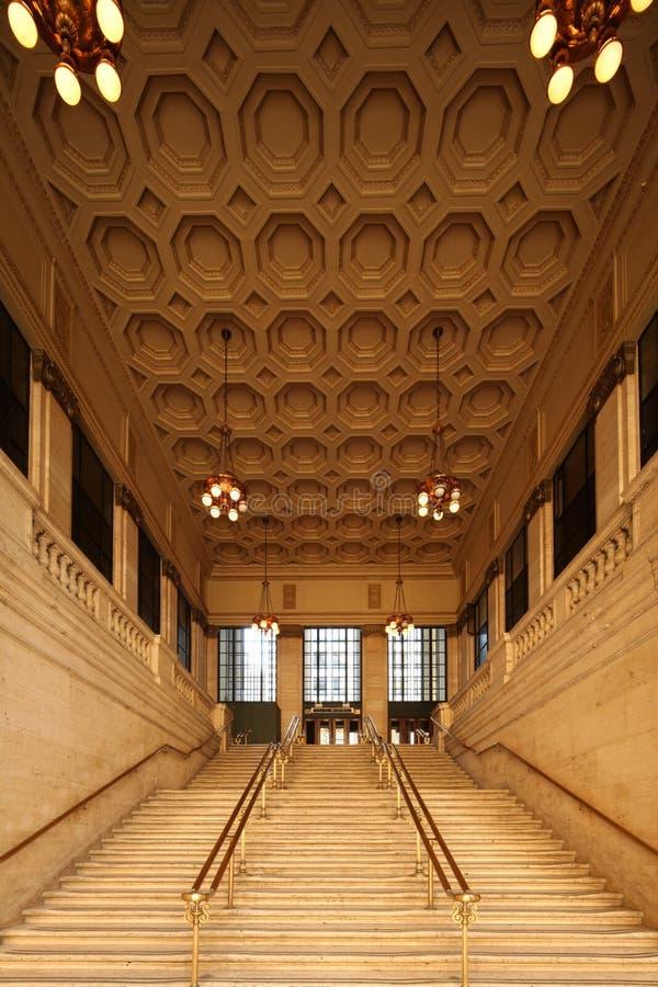 Download Chicago Union station editorial stock image. Image of illuminate - 20914729